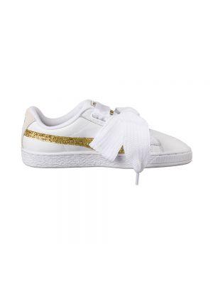 PUMA scarpe basket heart glitter wn's