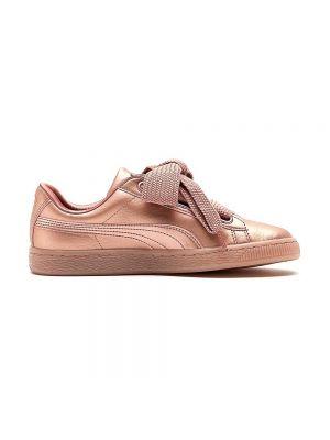 PUMA scarpe basket heart copper wn's