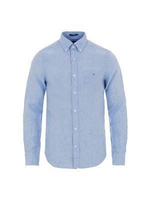 GANT camicia lino slim