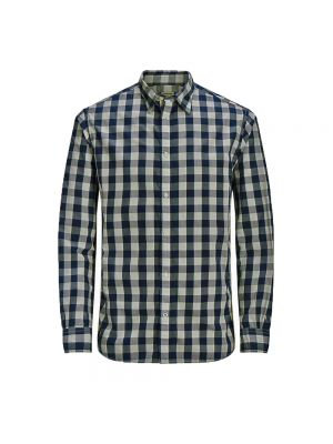 JACK JONES camicia gingham ess