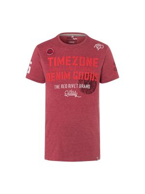 TIMEZONE t-shirt badge