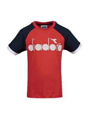 DIADORA t-shirt 5 palle jr