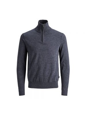 JACK JONES maglione 1/2 zip blufelix