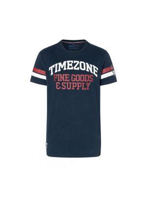 TIMEZONE t-shirt retro college