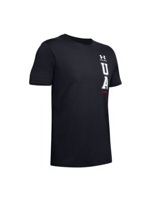 UNDER ARMOUR t-shirt vertical left chest logo