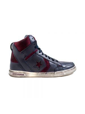 CONVERSE scarpe weapon hi leather/suede
