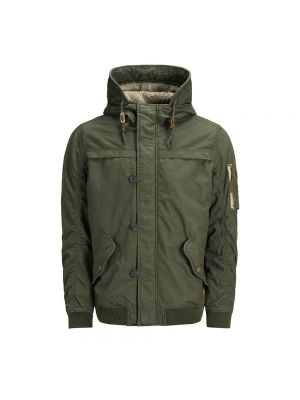 JACK JONES bomber parka new bento