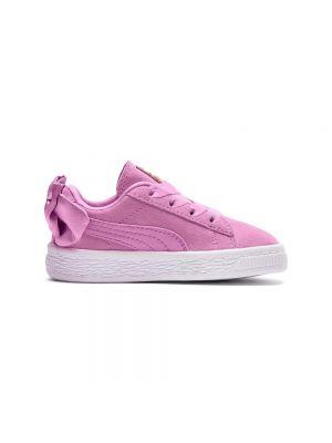 PUMA scarpe suede bow ac inf