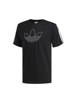 ADIDAS t-shirt outline trefoil