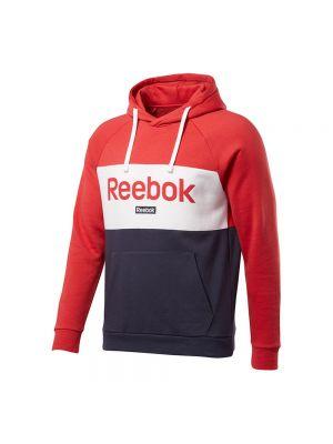 REEBOK felpa capp. big logo