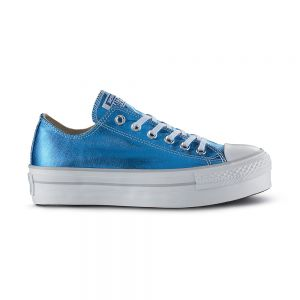 CONVERSE scarpe ct as ox platform canvas met.
