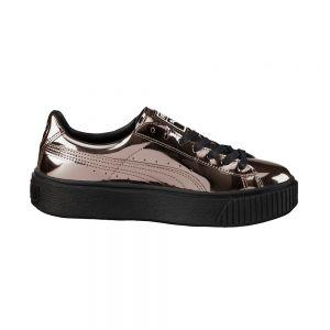 PUMA scarpe basket platform metallic