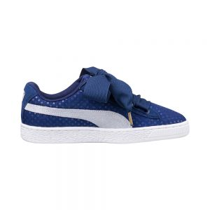 PUMA scarpe basket heart denim wn's