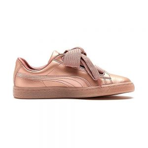 PUMA scarpe basket heart copper wn's
