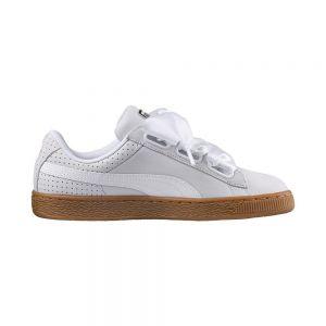 PUMA scarpe basket heart perf gum