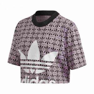 ADIDAS ORIGINALS t-shirt aop crop