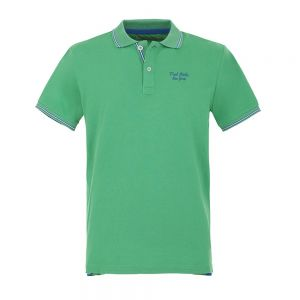 FRED MELLO polo contrast