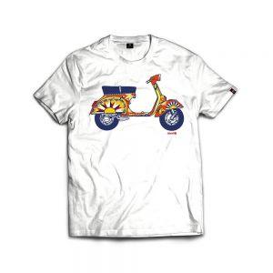 ISLAND ORIGINAL T-shirt vespa carretto