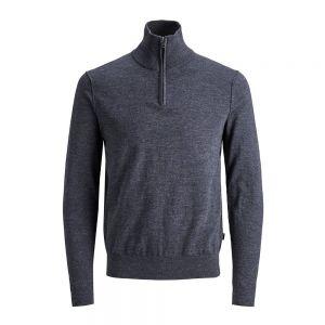 JACK JONES maglione 1/2 zip blufelix