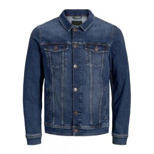 JACK JONES giubbotto jeans alvin noos