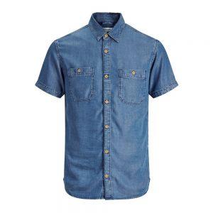 JACK JONES camicia m/c eff