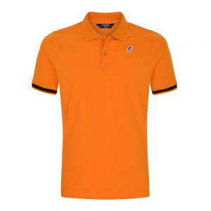 K-WAY polo vincent contrast