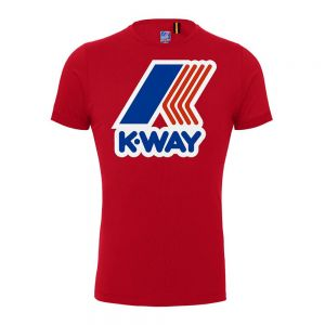 K-WAY t-shirt pete logo