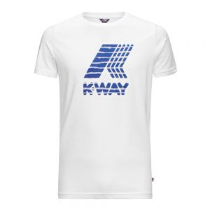 K-WAY t-shirt pete macro logo graphic
