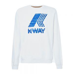 K-WAY girocollo augustine macro logo graphic