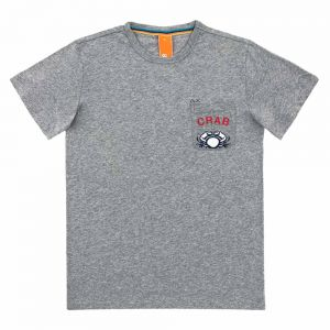 SUN68 t-shirt fancy emb. on chest