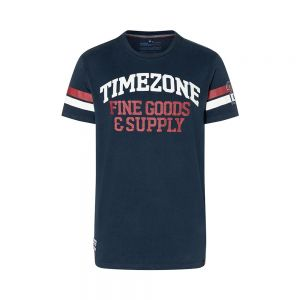 TIMEZONE t-shirt retro college