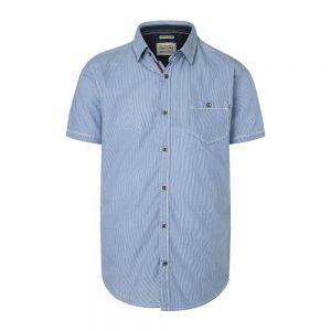 TIMEZONE camicia striped seersuker