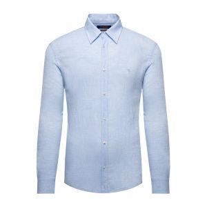 TRUSSARDI JEANS camicia lino