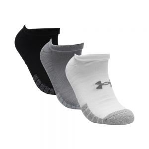 UNDER ARMOUR calze heatgear no-show 3ppk