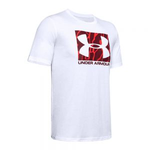 UNDER ARMOUR t-shirt camo boxed logo