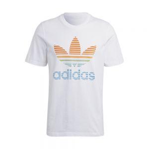 ADIDAS ORIGINALS t-shirt trefoil ombre
