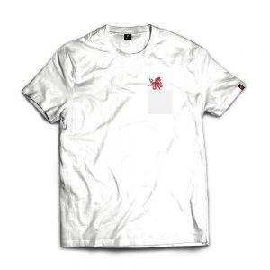ISLAND ORIGINAL T-shirt polpo nel taschino