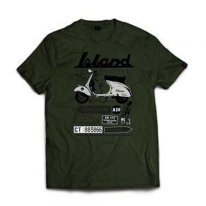 ISLAND ORIGINAL T-shirt sicily road