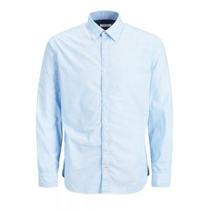 JACK JONES camicia plain popeline noos