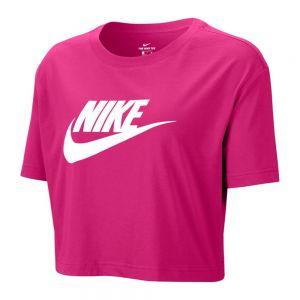 NIKE t-shirt essential crop icon futura