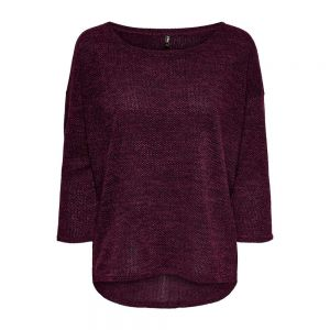 ONLY maglia alba 3/4 noos