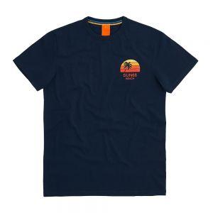 SUN68 t-shirt big logo print on chest