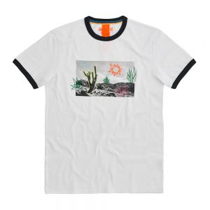 SUN68 t-shirt fancy print
