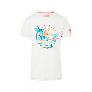 TIMEZONE t-shirt watercolor