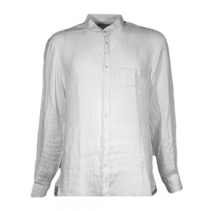 TRUSSARDI camicia lino coreana
