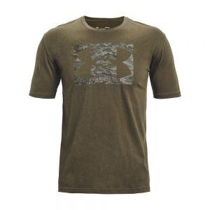 UNDER ARMOUR t-shirt abc camo boxed logo