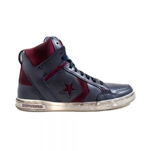 CONVERSE scarpe weapon hi leather/suede