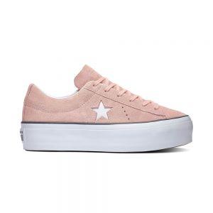 CONVERSE scarpe one star platform - ox