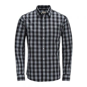 JACK JONES camicia gingham noos