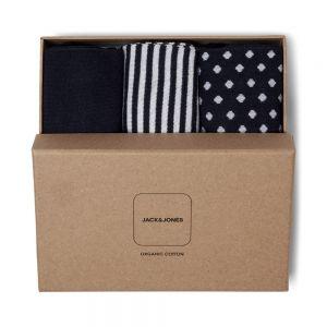 JACK JONES gift box 3ppk calze